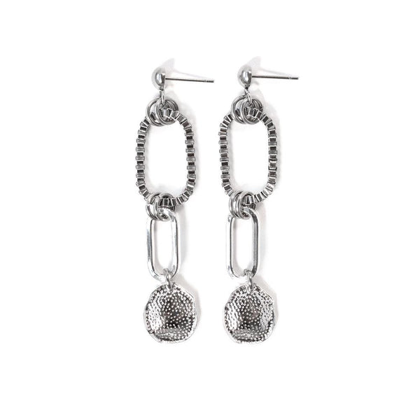 Venise Silver Plated Earrings