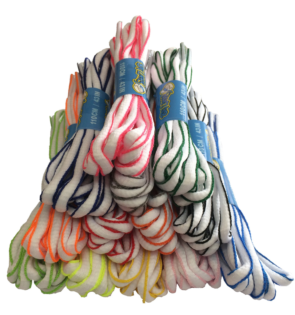 New Two Colour Oval Running Laces now in stock!