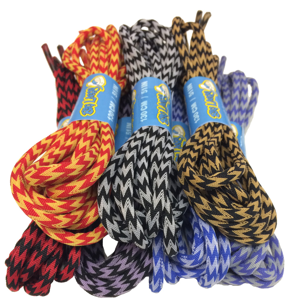 New Zig Zag Style Laces now in stock!