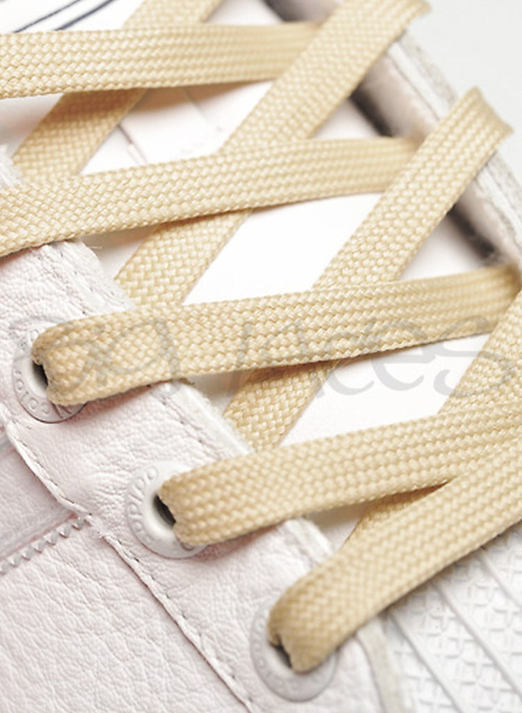 Flat Wheat Shoelaces - 8mm wide