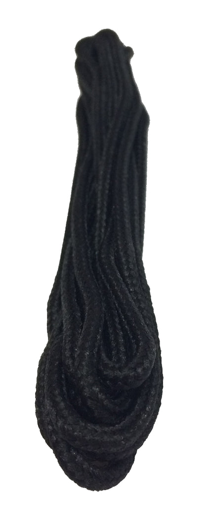 Thin Black Dress Shoelaces
