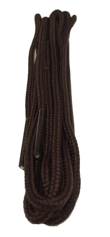 Thin Brown Dress Shoelaces - 2mm wide