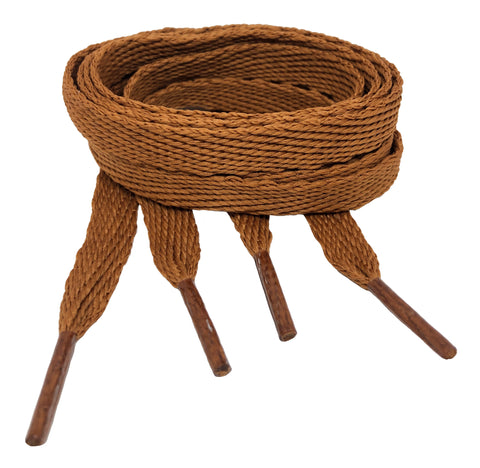 Flat Nutmeg Shoelaces - 10mm wide