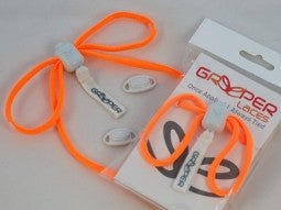 Greeper Sport Neon Orange Round Shoelaces