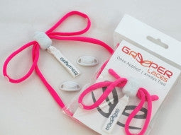 Greeper Sport Neon Pink Round Shoelaces