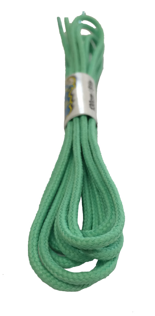 Round Jade Shoelaces - 3mm wide