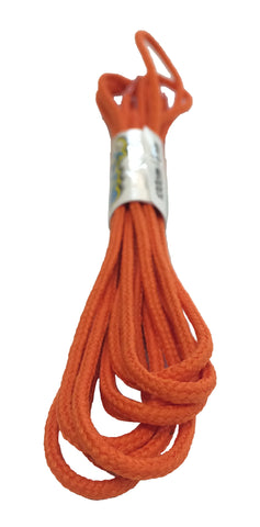 Round Burnt Orange Shoelaces - 3mm wide