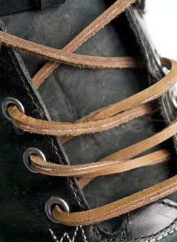 Greystone Leather Shoelaces