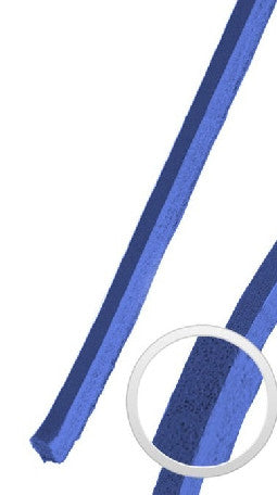 Mr Lacy Cowies - Royal Blue Leather Shoelaces