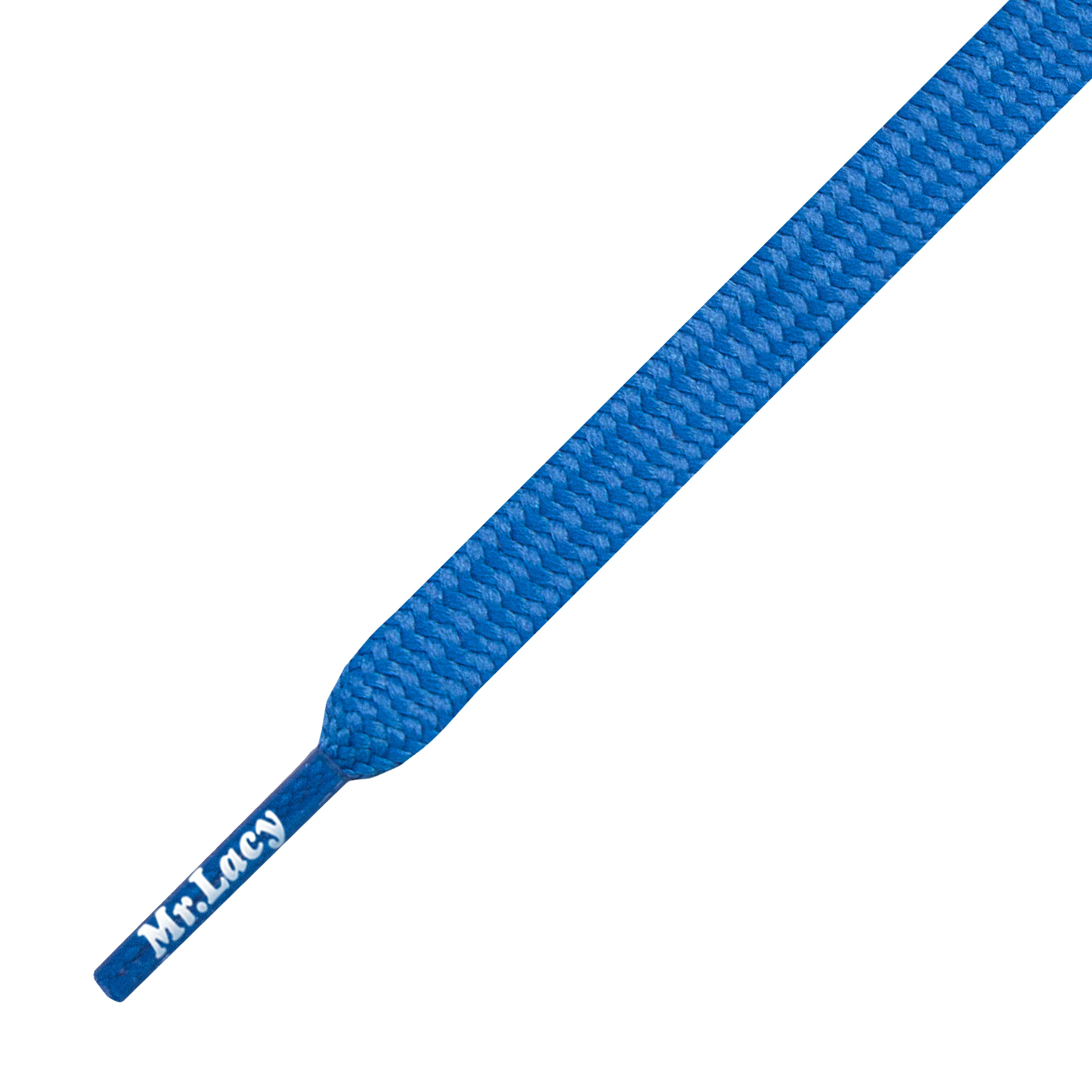Mr Lacy Runnies Flat Royal Blue Shoelaces
