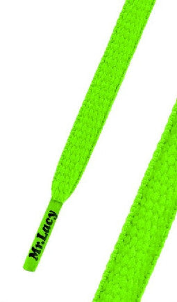 Mr Lacy Runnies Neon Green Shoelaces