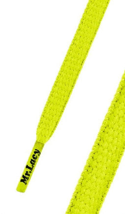 Mr Lacy Runnies Neon Lime Yellow Shoelaces