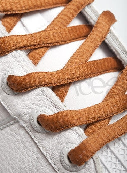 Nutmeg Oval Shoelaces