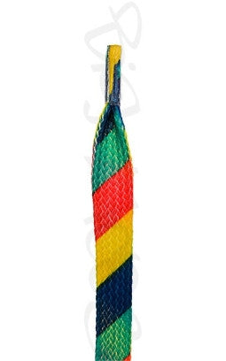 Flat Flags Pattern Shoelaces