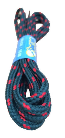 Round Cedar Green and Red Bootlaces