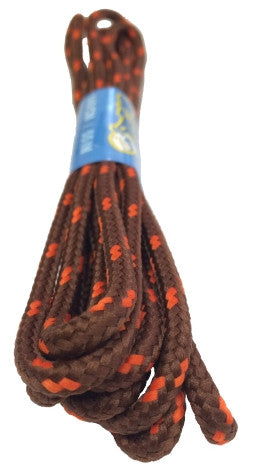 Round Chocolate and Orange Bootlaces