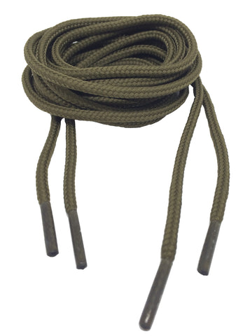 Round Everglade Green Bootlaces