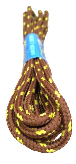 Round Nutmeg and Yellow Bootlaces