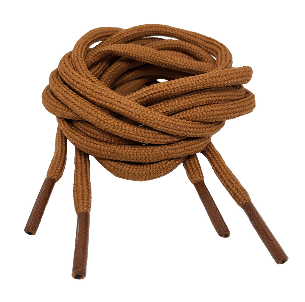Round Nutmeg Shoelaces