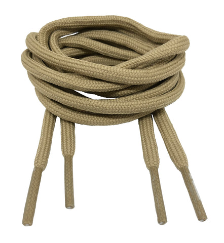 Round Oatmeal Shoelaces