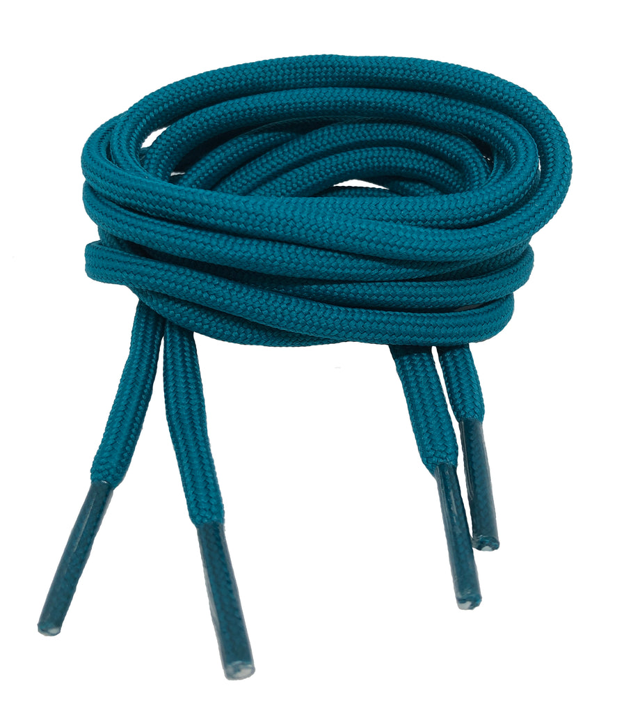Round Teal Shoelaces