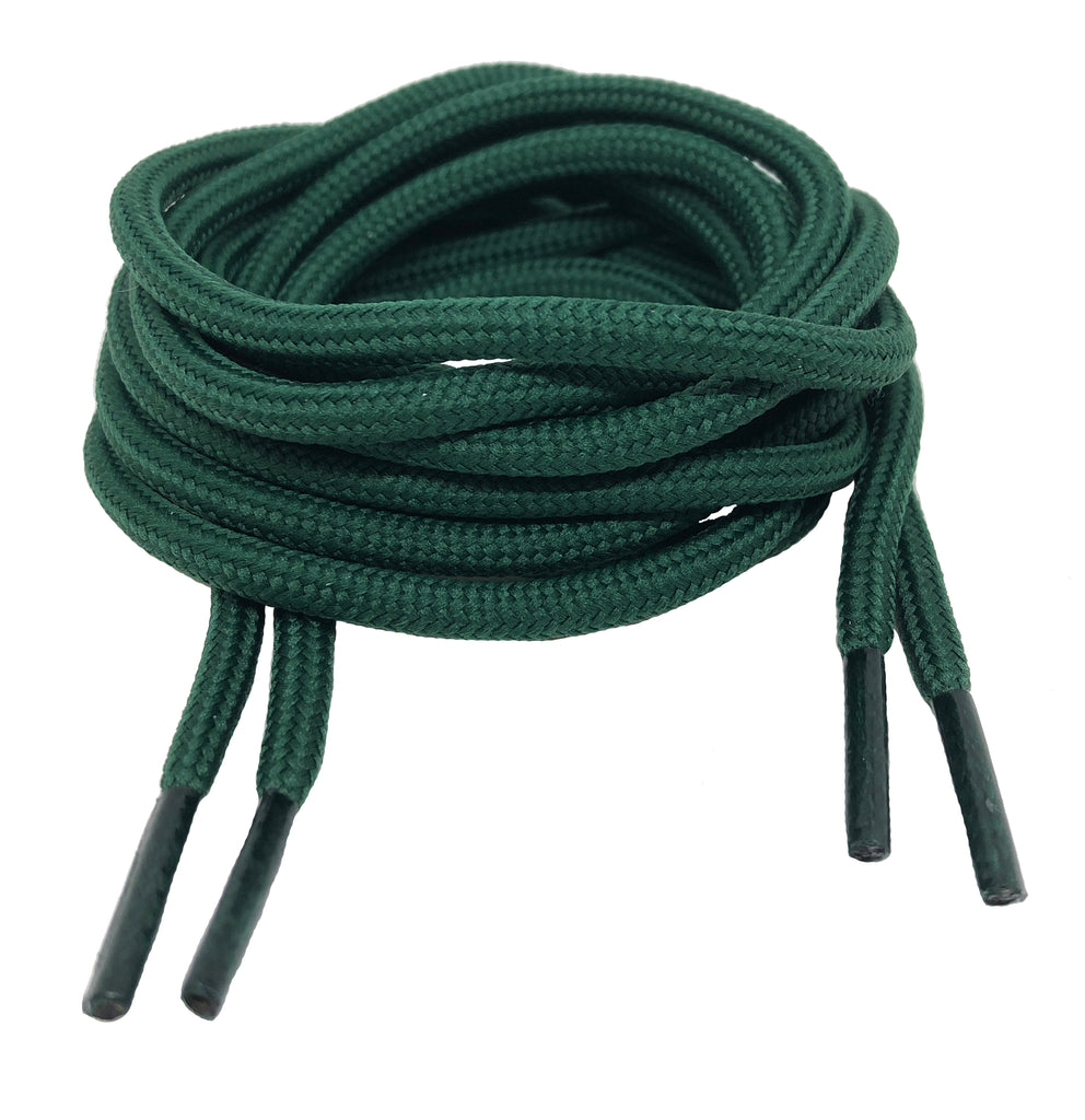 Round Cedar Green Laces - 5mm wide