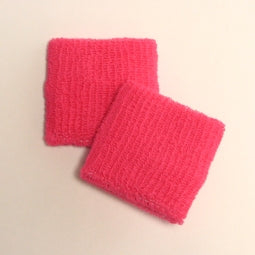 Small Bright Pink Wristbands