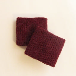 Small Maroon Wristbands
