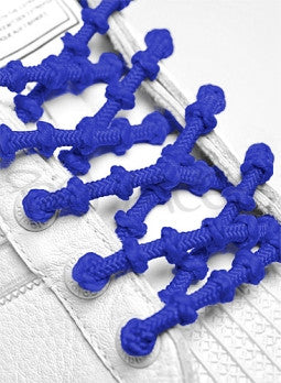 Xtenex Triathlon Blue Shoelaces