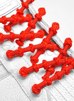 Xtenex Triathlon Red Shoelaces