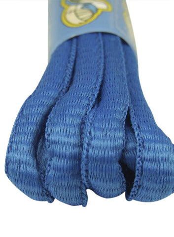 Electric Blue Oval Running Shoe Shoelaces