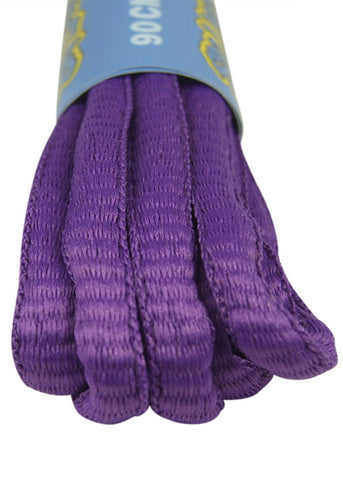 Violet Oval Running Shoe Shoelaces