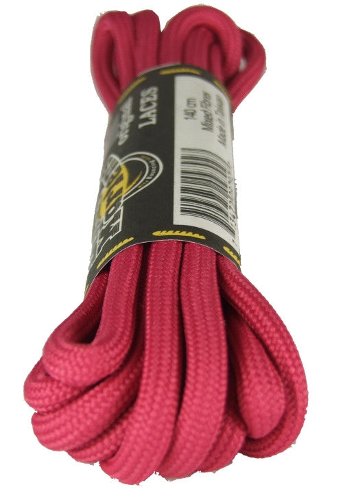 Dr Martens Round Pink Laces