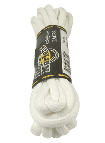 Dr Martens Round White Laces