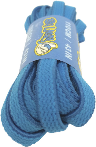 Elastic Bright Blue Shoelaces