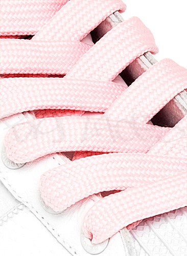 Fat Pink Shoelaces - 13mm wide