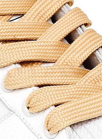 Fat Wheat Shoelaces - 13mm wide