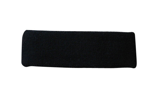 Black Sports Quality Headband