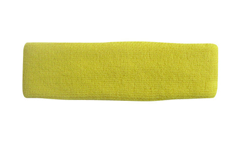 Bright Yellow Sports Quality Headband