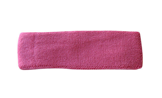 Dark Pink Sports Quality Headband