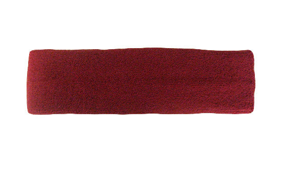 Dark Red Sports Quality Headband