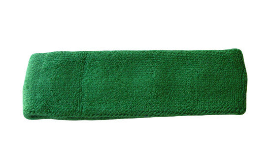 Forest Green Sports Quality Headband