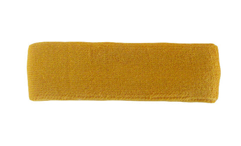 Gold Yellow Sports Quality Headband