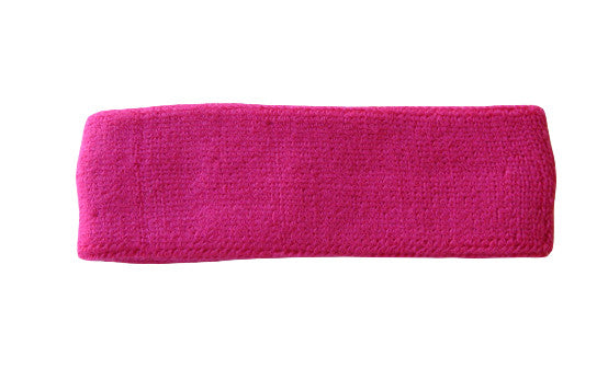 Hot Pink Sports Quality Headband