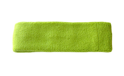 Lemon Lime Green Sports Quality Headband