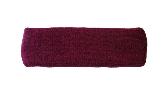 Maroon Sports Quality Headband