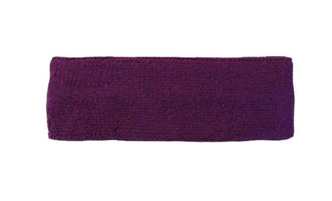 Purple Sports Quality Headband