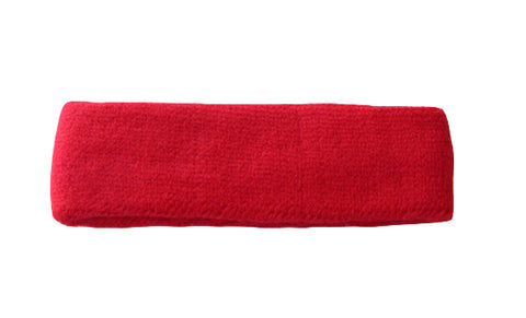 Red Sports Quality Headband