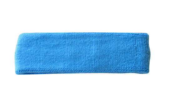 Sky Blue Sports Quality Headband