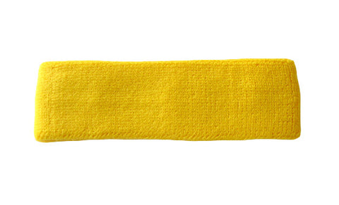 Yellow Sports Quality Headband